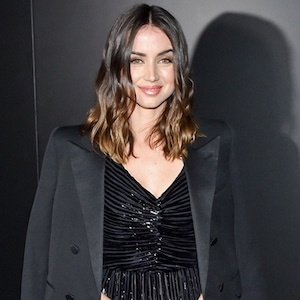 Ana de Armas, Saint Laurent, Paris Fashion Week, WTF widget