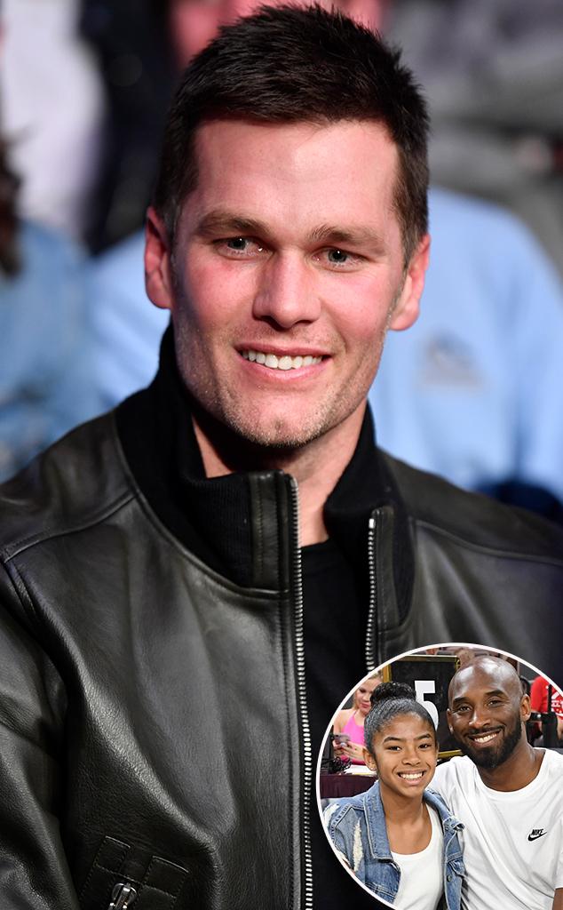 Tom Brady, Kobe Bryant, Gianna Bryant