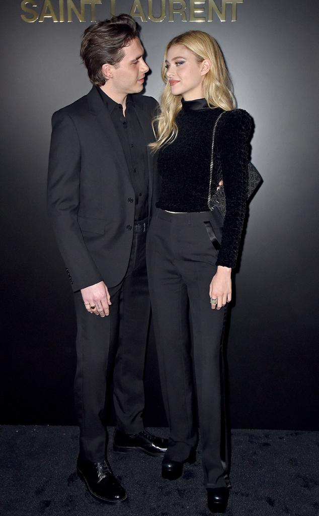 Paris Fashion Week Star Celeb Sightings, Brooklyn Beckham, Nicola Peltz