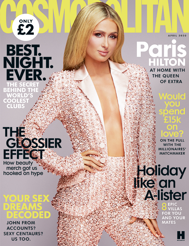 Paris Hilton, Cosmo UK, April 2020