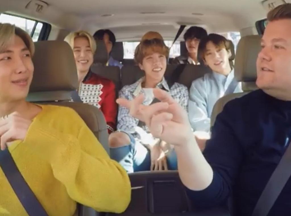 BTS, Carpool Karaoke
