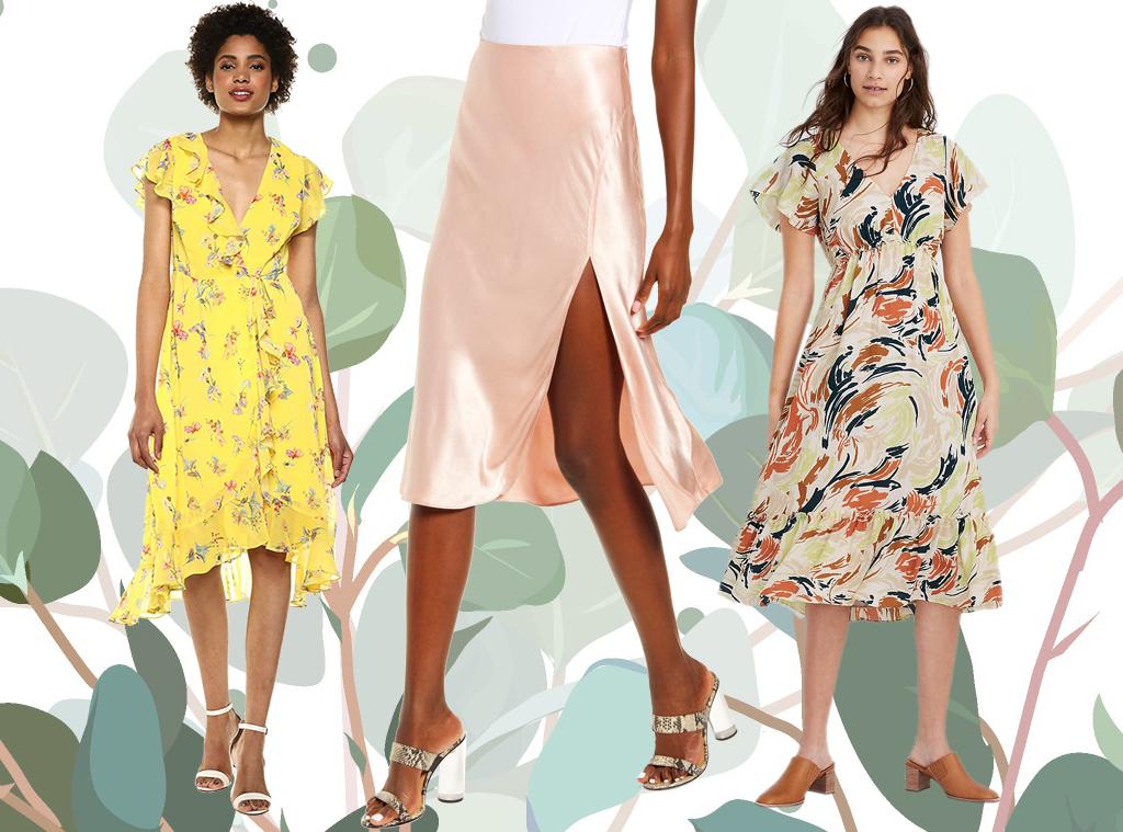 EComm: Spring Trend Romantic Silhouettes