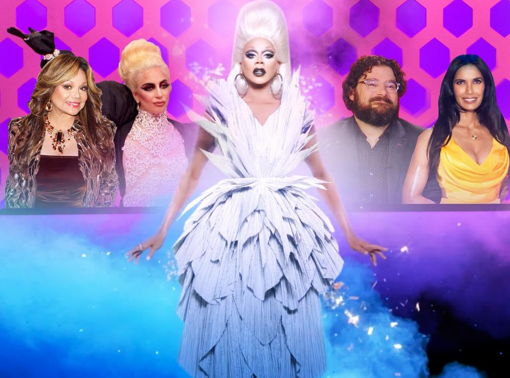Rupaul Drag Race, Memorable Guest Judges, Lady Gaga, Padma Lakshmi, Bobby Moynihan, LaToya Jackson