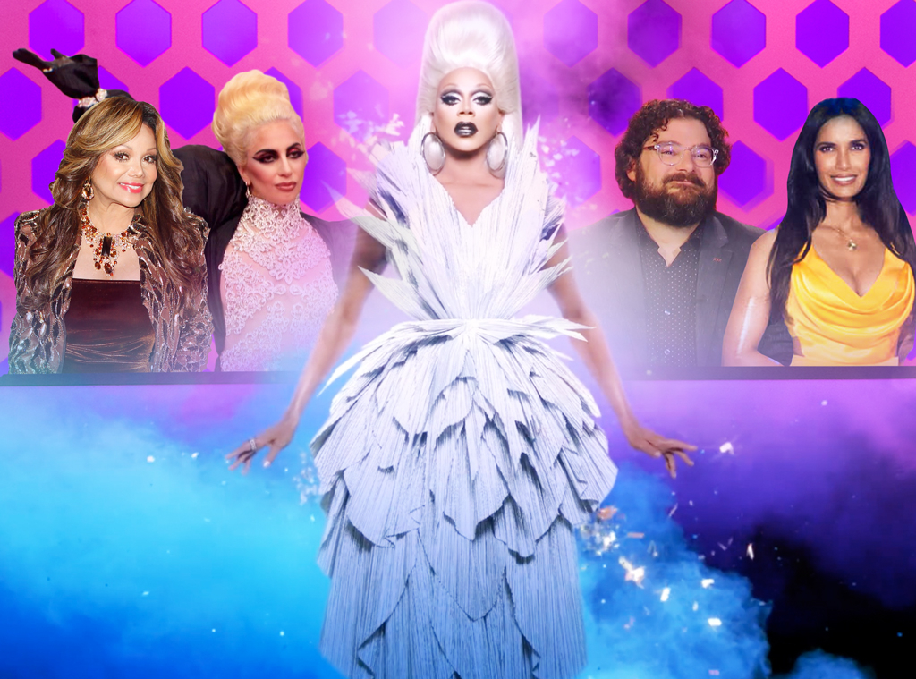 Rupaul Drag Race, Memorable Guest Judges, Lady Gaga, Padma Lakshmi, Bobby Moynihan, LaToya Jackson