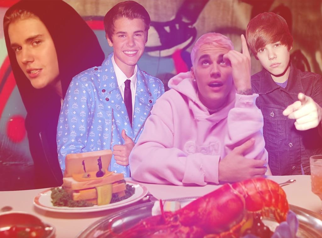 Justin Bieber, Ranking Top 10 Hits