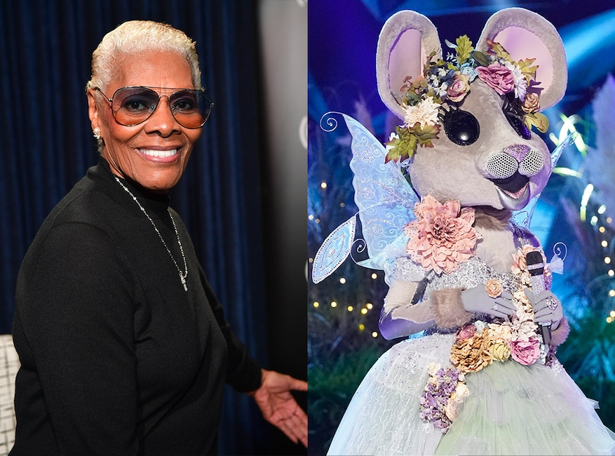 The Masked Singer, Dionne Warwick, Mouse