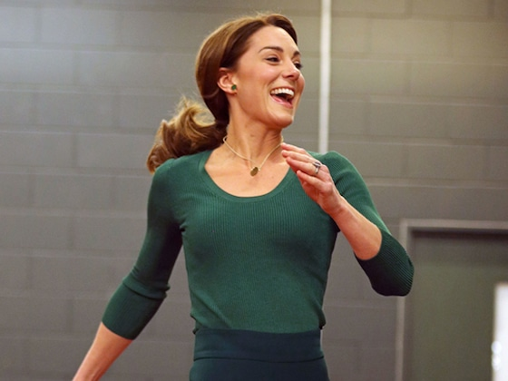 Watch Kate Middleton Take on Taekwondo and Track During Sporty Visit