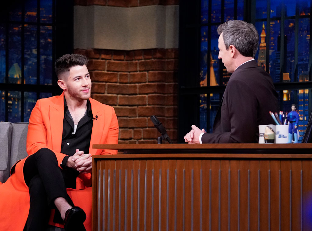 Nick Jonas, Late Night with Seth Meyers