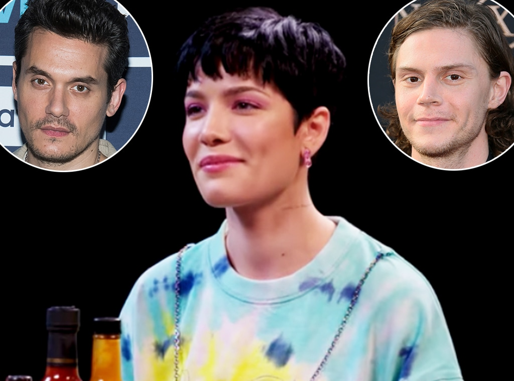 Halsey, John Mayer, Evan Peters