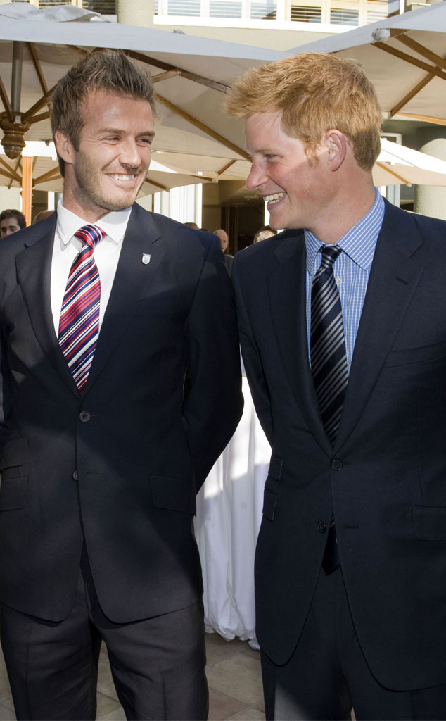 David Beckham, Prince Harry