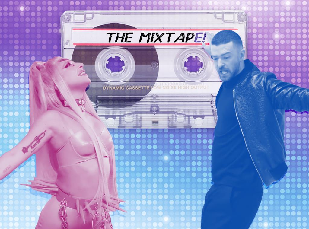 The MixtapE!, Lady Gaga, Justin Timberlake