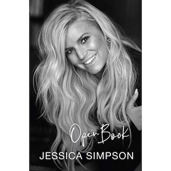 EComm: Jessica Simpson, Open book