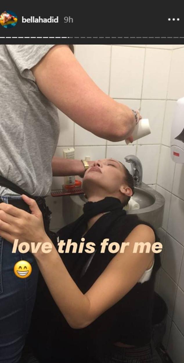 Bella Hadid Instagram Stories