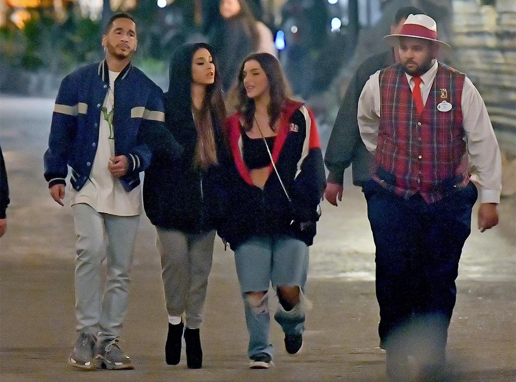 Ariana Grande, Mikey Foster, Disneyland
