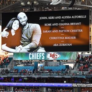 Kobe Bryant, Gianna Bryant, 2020 Super Bowl