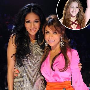 Nicole Scherzinger, Paula Abdul, Shakira