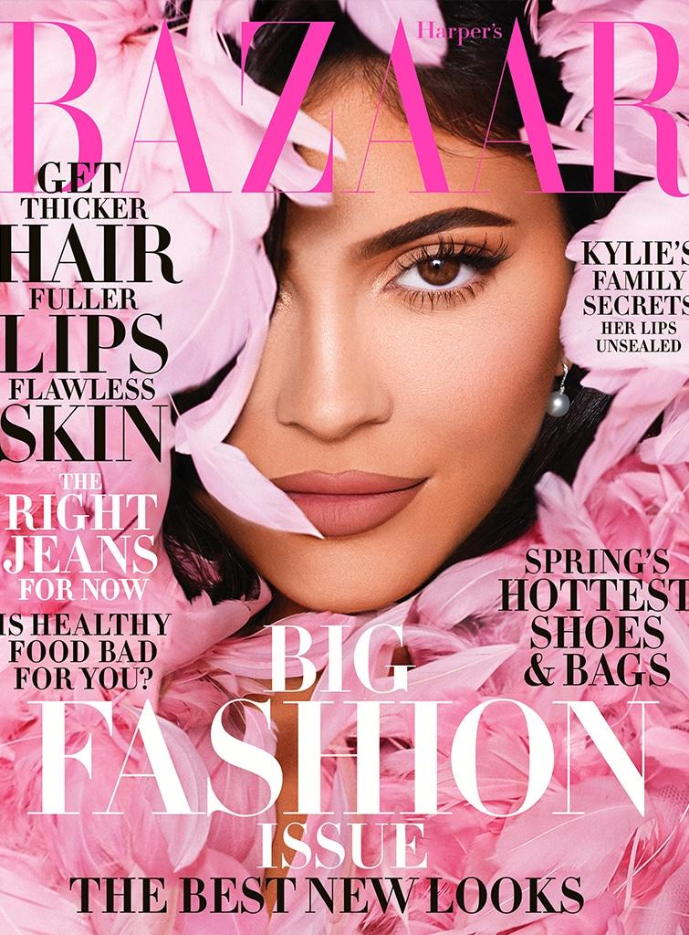 Kylie Jenner Harper's Bazaar Cover