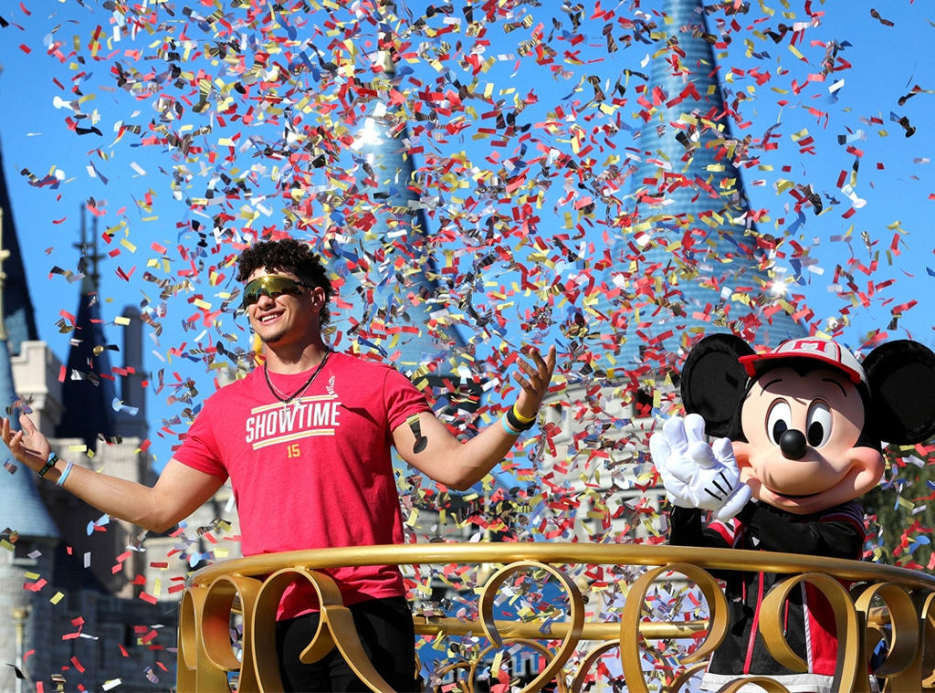 Patrick Mahomes, Disney World