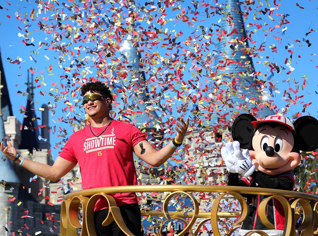 Patrick Mahomes, Disney World