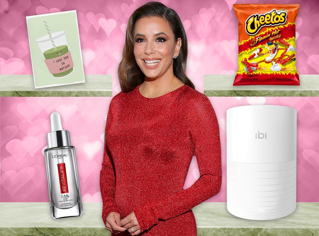 E-Comm: Eva Longoria, Valentine's Day Gift Guide