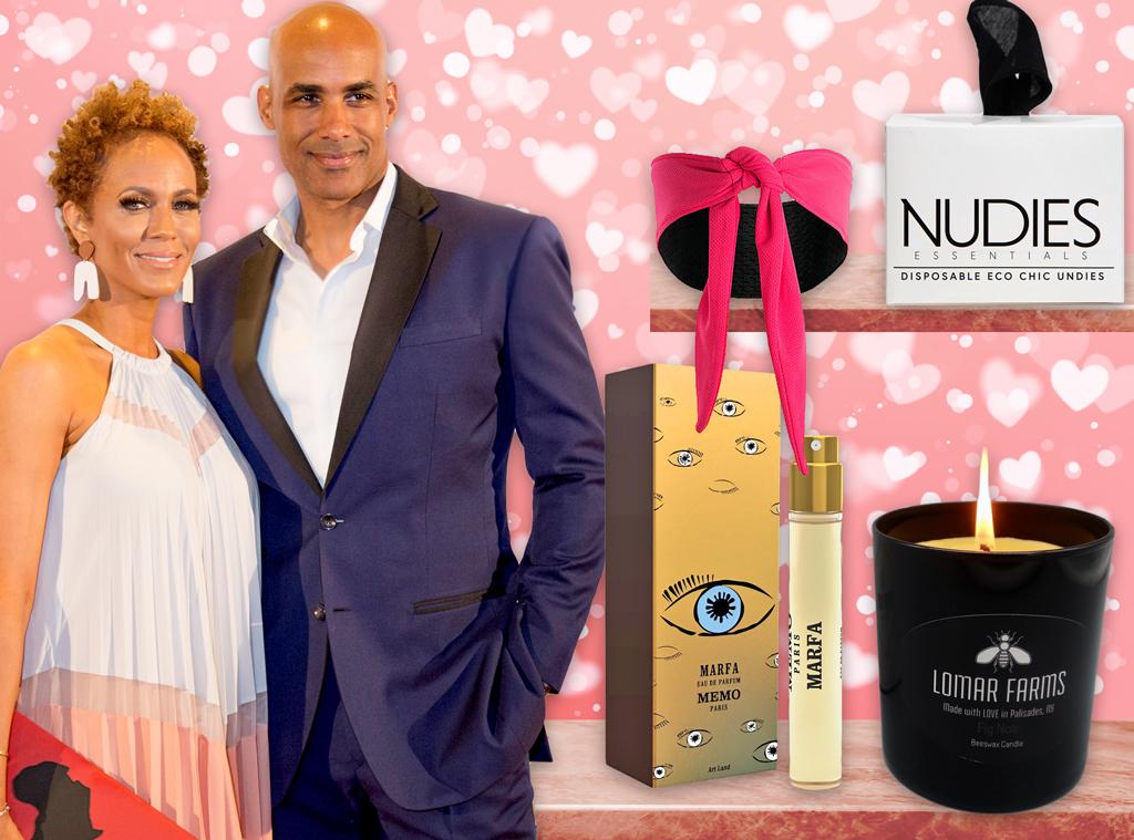 E-Comm: Boris Kodjoe, Nicole Ari Parker, Valentine's Day Gift Guide