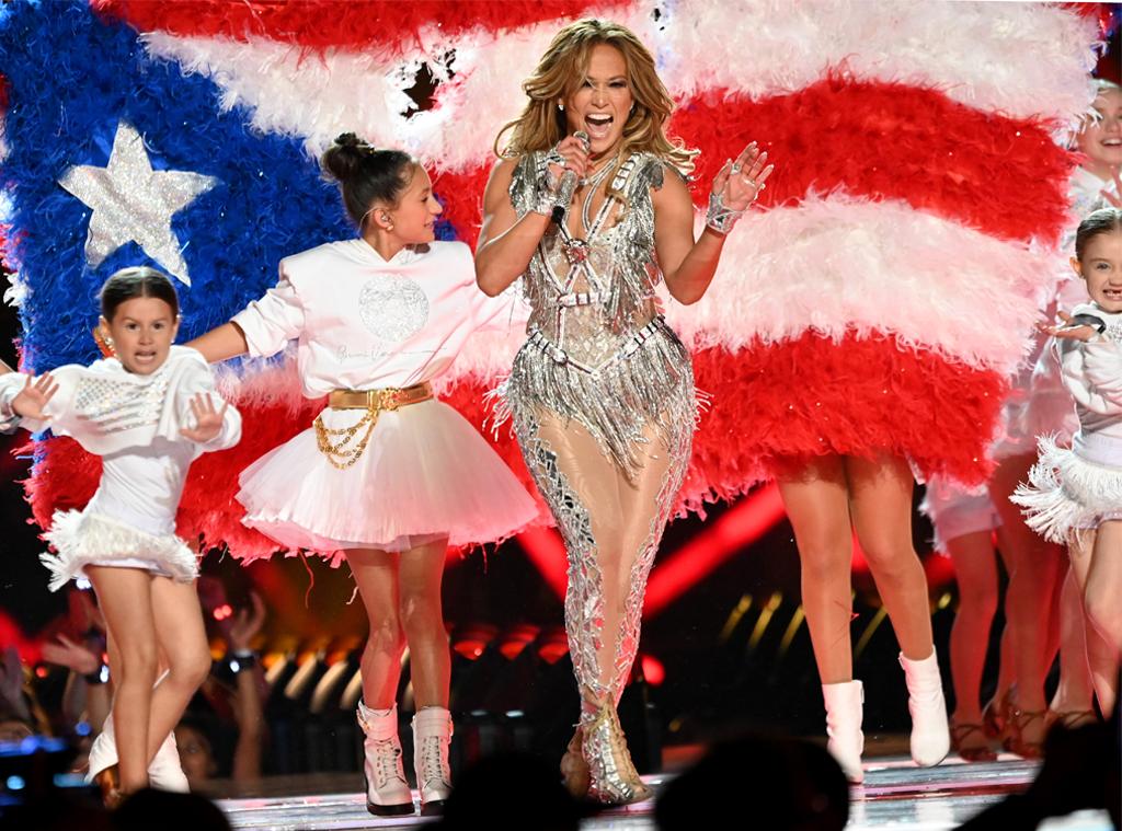 Jennifer Lopez, Emme Muniz, 2020 Super Bowl, halftime show