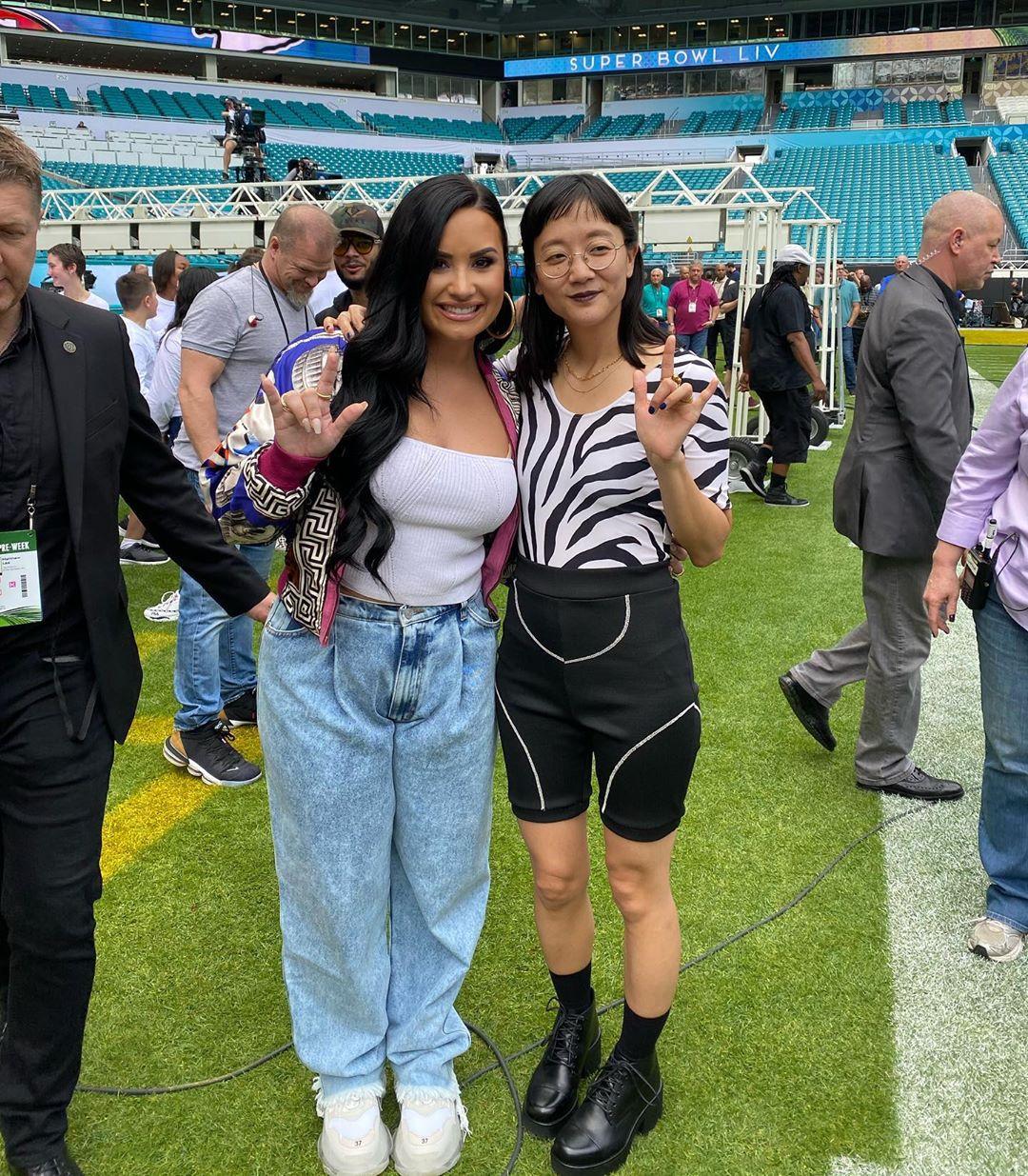 Christine Sun Kim, Demi Lovato