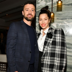 Justin Timberlake, Jessica Biel, The Sinner Premiere