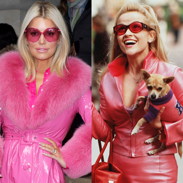 Jessica Simpson's Elle Woods-Inspired Outfit Will Make You Do a Double Take