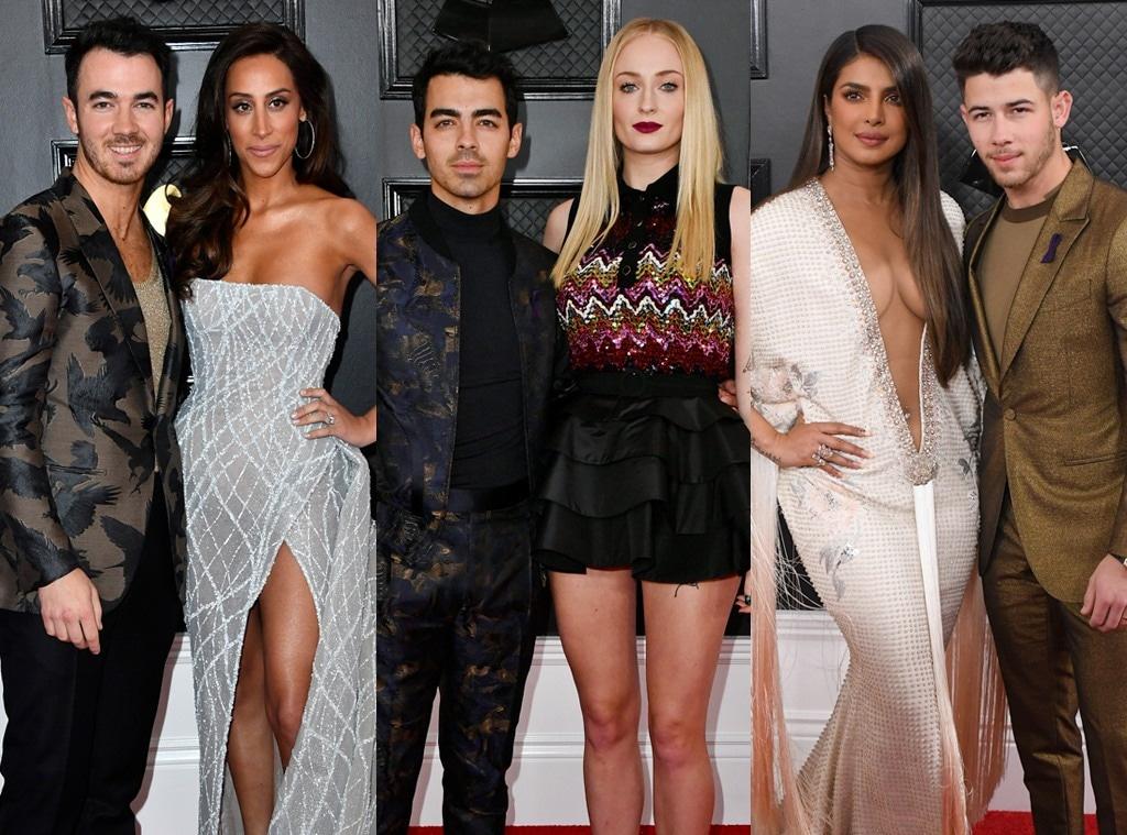 Kevin Jonas, Danielle Jonas, Joe Jonas, Sophie Turner, Priyanka Chopra, Nick Jonas, Jonas Couples