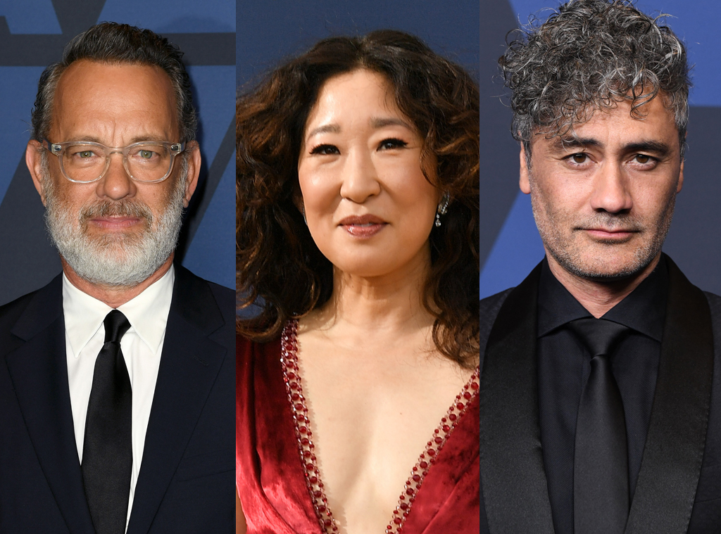Tom Hanks, Sandra Oh, Taika Waititi