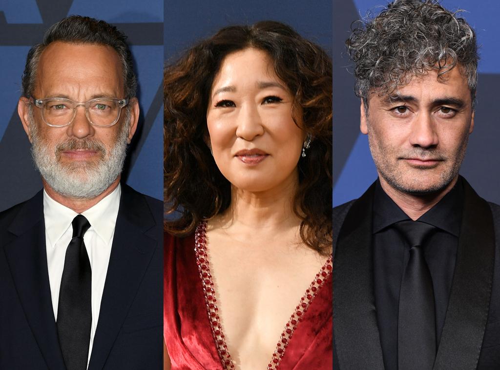 Tom Hanks, Sandra Oh, Taika Waititi