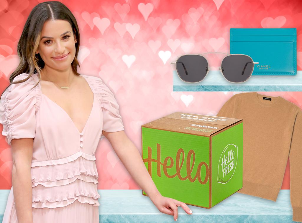 E-Comm: Lea Michele, Valentine's Day Gift Guide