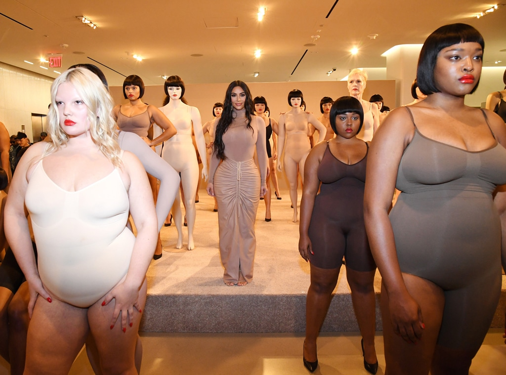 Kim Kardashian, SKIMS Models