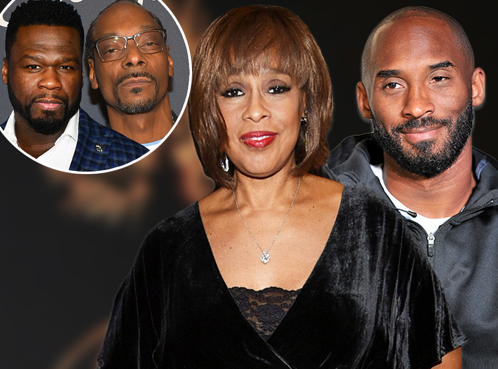 Gayle King, Kobe Bryant, Snoop Dogg, 50 Cent