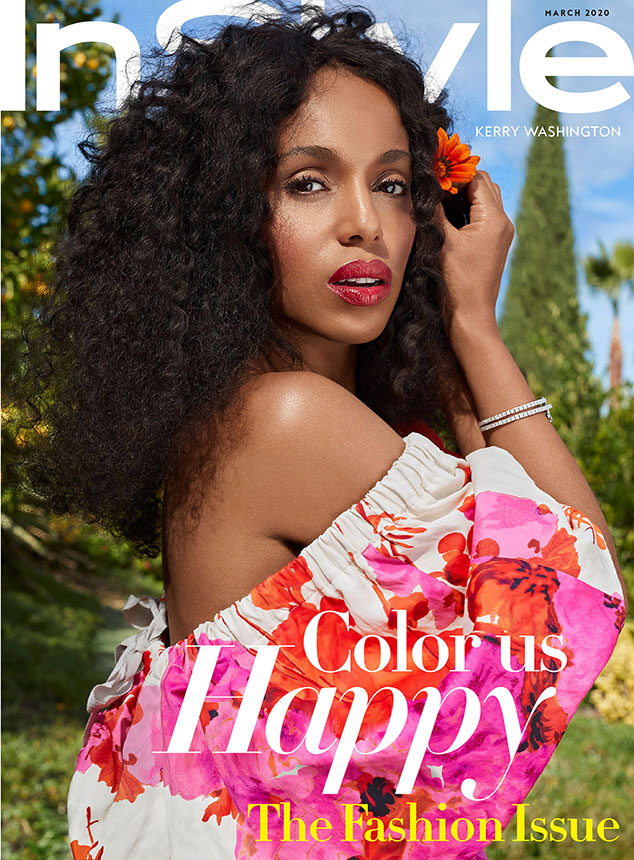 Kerry Washington, InStyle, March 2020