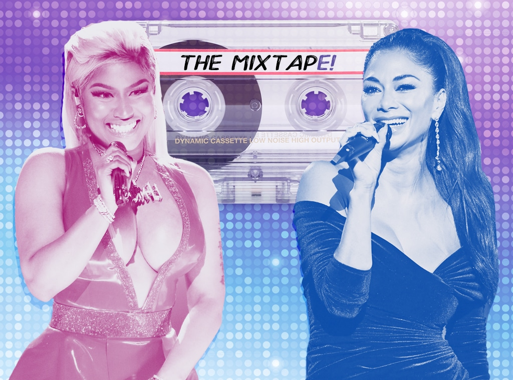 The MixtapE!, Nicki Minaj, Nicole Scherzinger