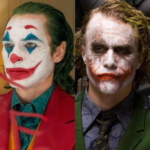 Joker - Joaquin Phoenix, Heath Ledger