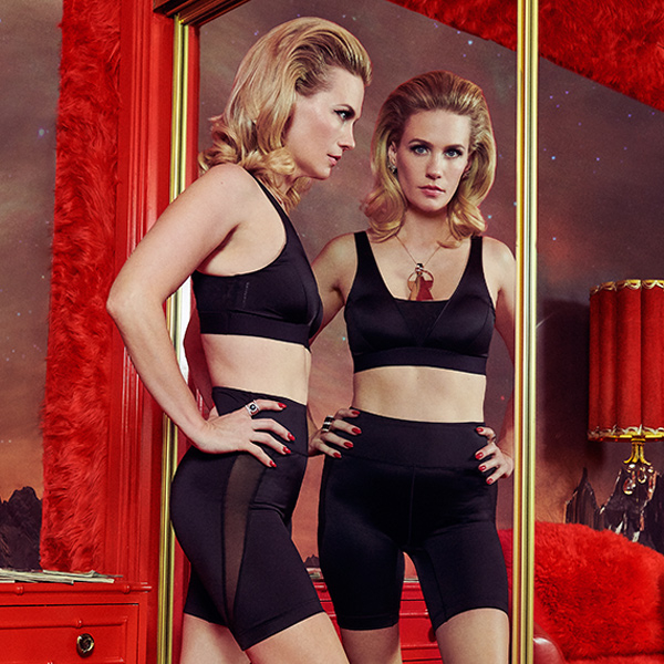 January Jones' Intimates Collection Will Make Your Life So Much Sexier