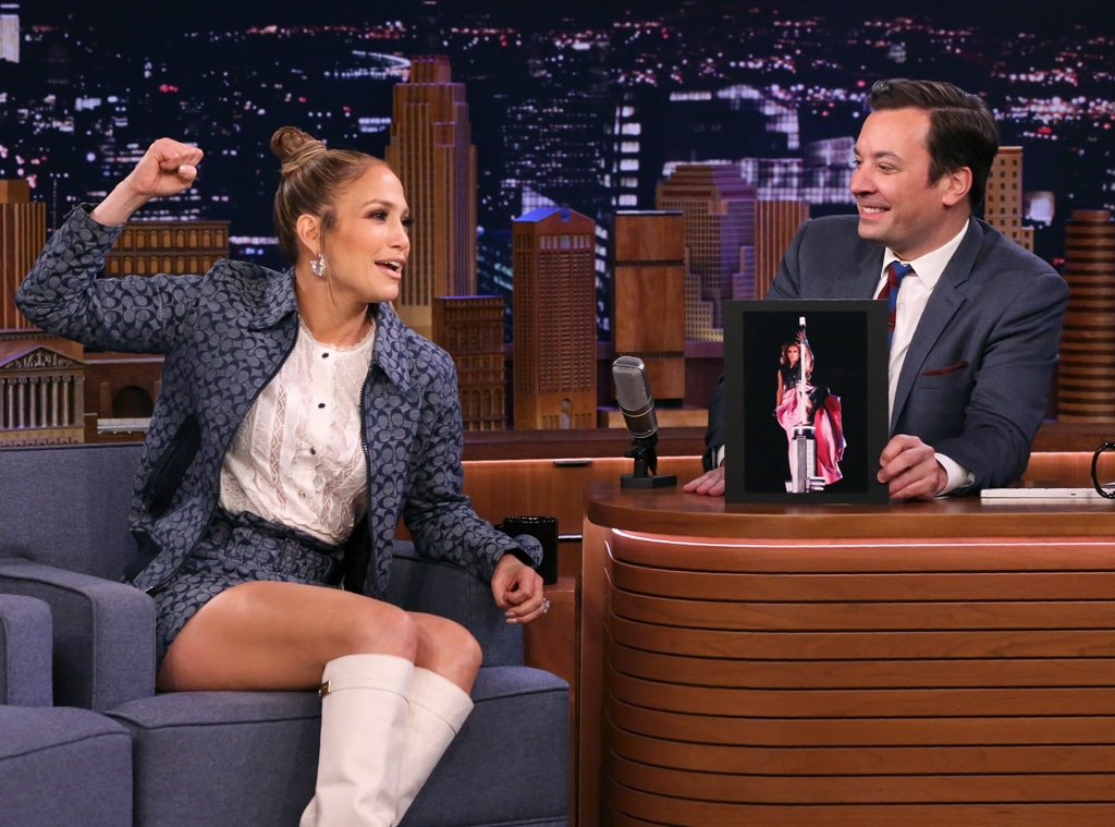 Jennifer Lopez,  The Tonight Show Starring Jimmy Fallon