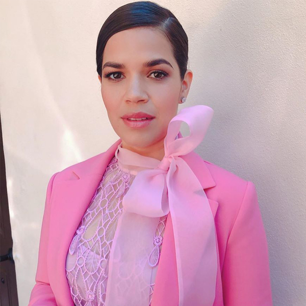 America Ferrera Looks Pretty in Pink at the 2020 Spirit Awards