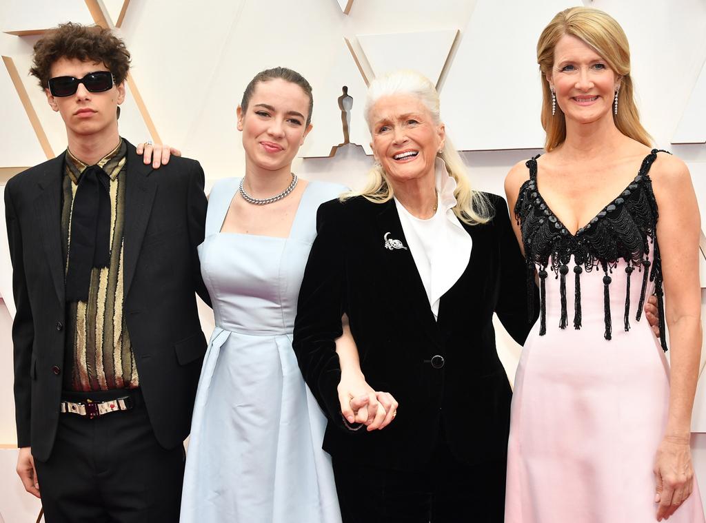 Ellery Harper, Jaya Harper, Diane Ladd, Laura Dern, 2020 Oscars, Academy Awards