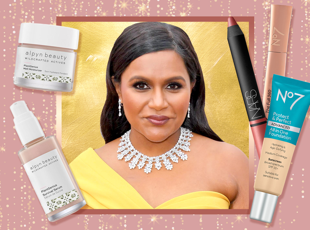 E-Comm: Mindy Kaling, Oscars Beauty Breakdown