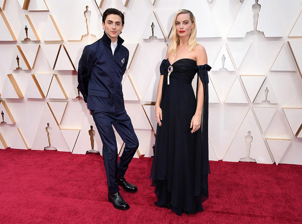 Timothee Chalamet, Margot Robbie, 2020 Oscars, Academy Awards