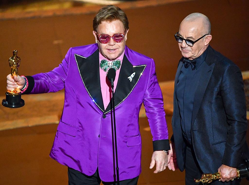 Elton John, Bernie Taupin, 2020 Oscars, Academy Awards, Winners