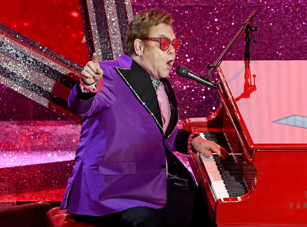 Elton John, 2020 Oscars, Academy Awards, Show
