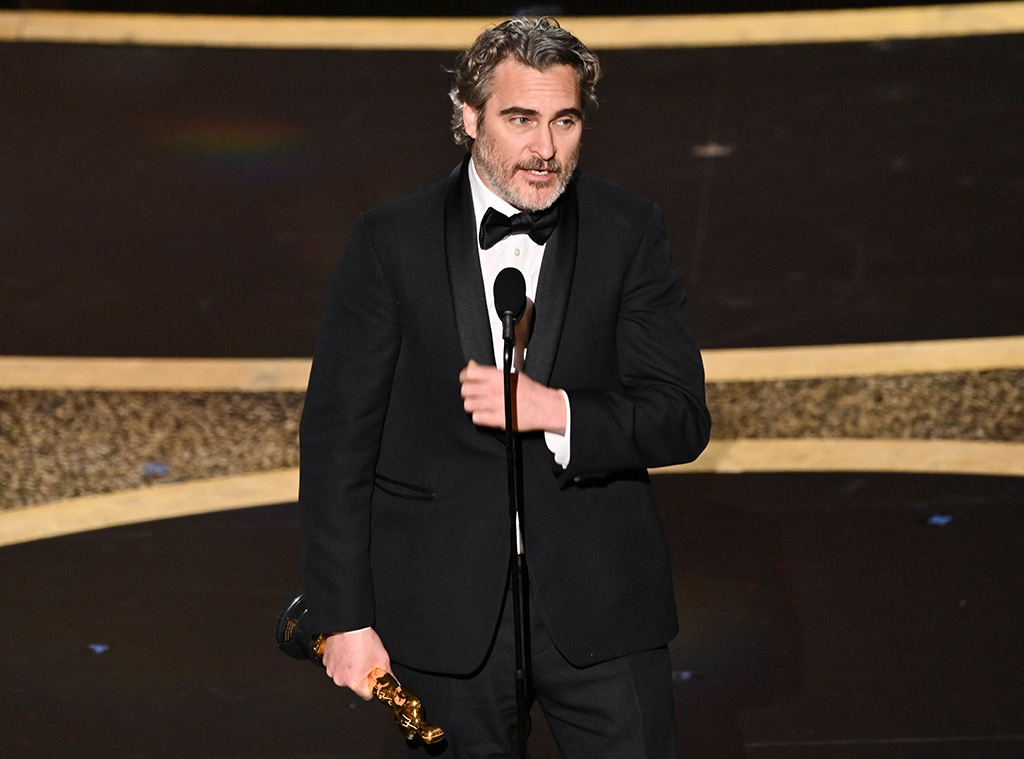 Joaquin Phoenix, 2020 Oscars, Academy Awards, Winners