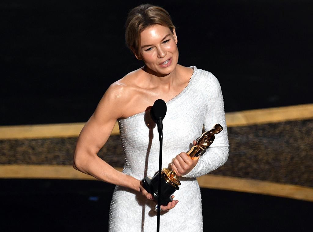 Renée Zellweger, 2020 Oscars, Academy Awards, Winners