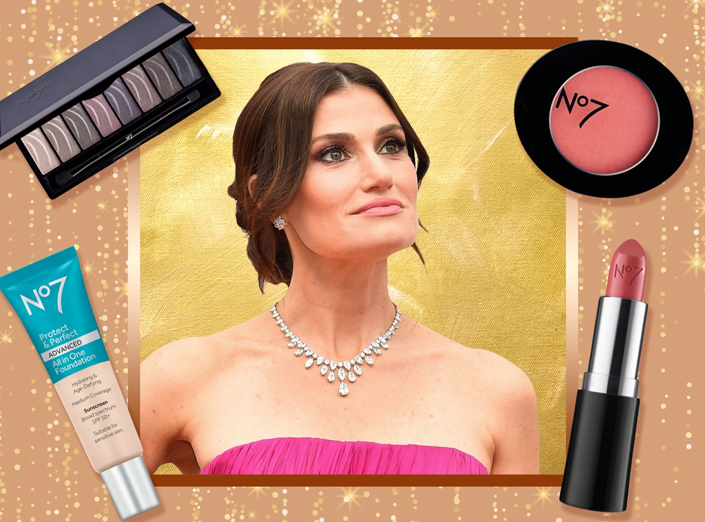 E-Comm: Idina Menzel, Oscars Beauty Breakdown