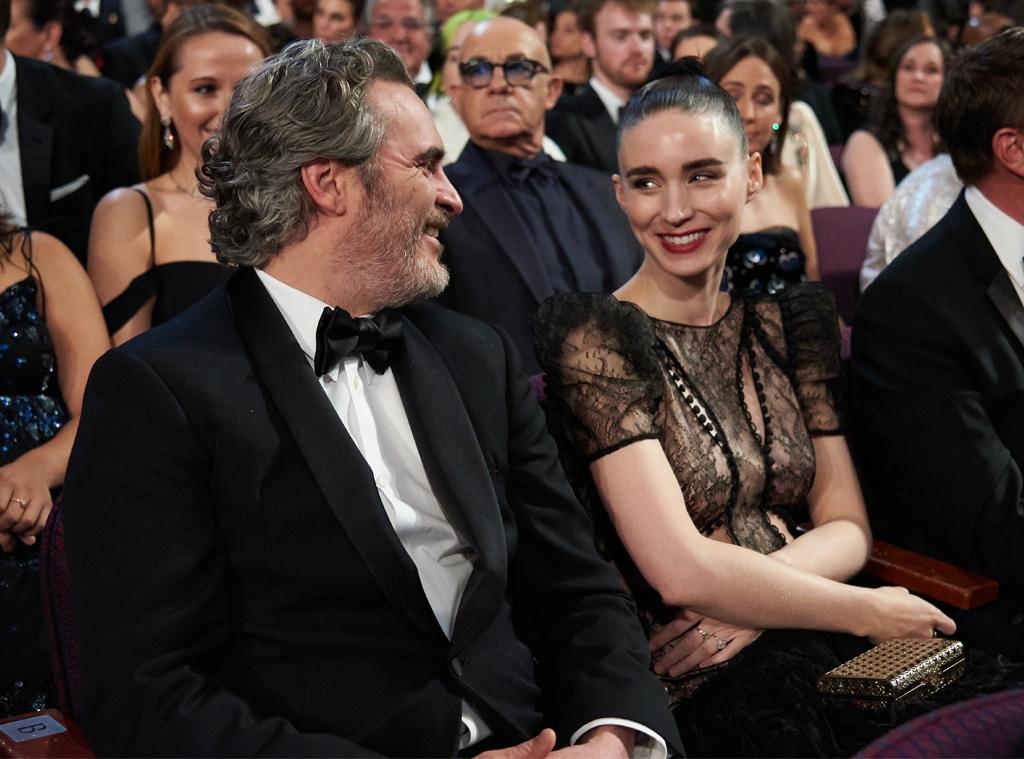 Joaquin Phoenix, Rooney Mara, 2020 Oscars, Academy Awards, Candids